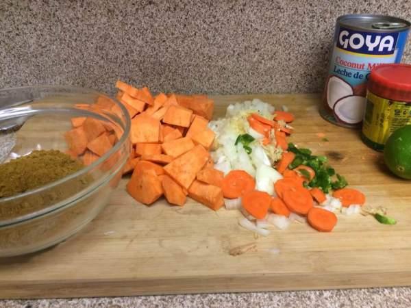 black bean sweet potato curry MIP